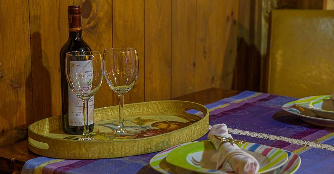 casa rural en Gredos con encanto