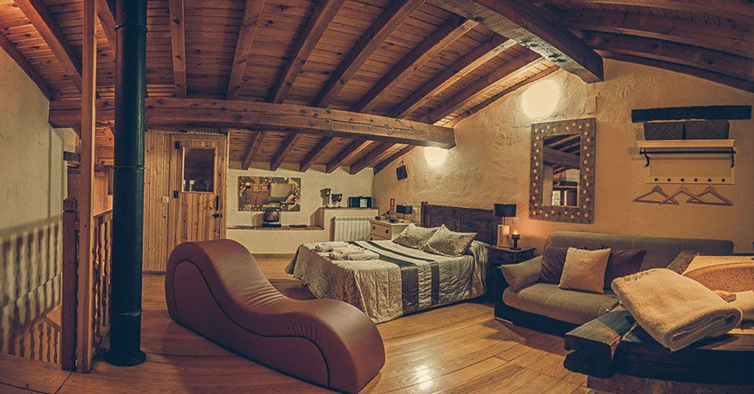 casa rural romántica