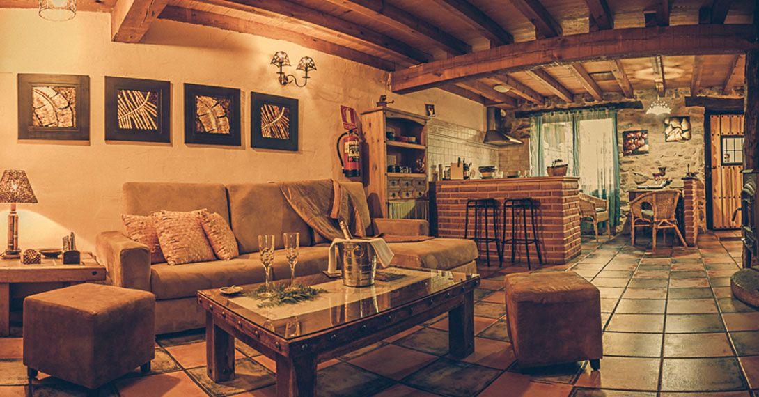casa rural romántica con encanto