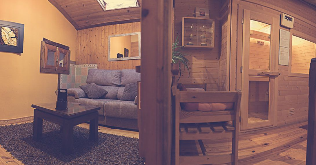 casa rural para dos con spa y sauna